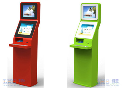 Windows XP Or Linux Computer Slef Service Kiosk Terminal With Keyboard