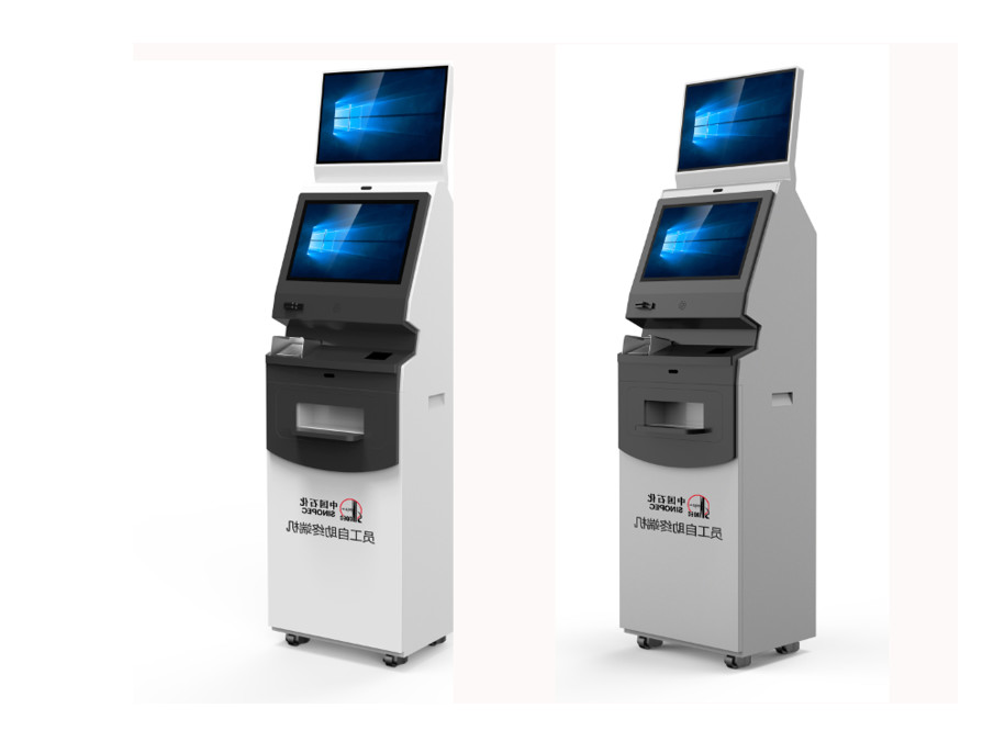 Banking Pinpad Self Service Payment Kiosk / PC Kiosk Stand With LCD , TFT Display
