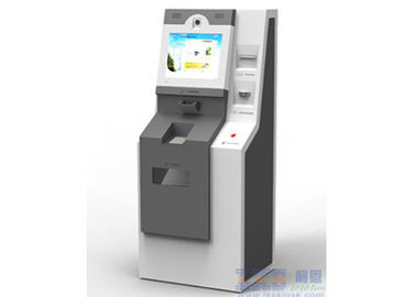 Multifunction Windows 7 Linux ATM Automatic Kiosk with Cash Dispenser Machine
